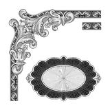 Decoratiekader Royalty-vrije Stock Afbeelding