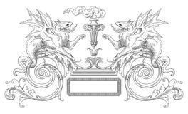 Decoratiekader Stock Foto