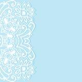 Decoratieve abstracte achtergrond, overladen kantkaart of uitnodiging Royalty-vrije Stock Fotografie