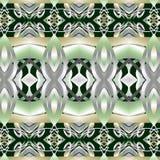 Decoratieve abstracte heldere de textuurstof van het achtergrondpatroon geometrische Behang Stock Illustratie