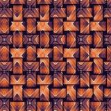Decoratieve abstracte heldere de textuurstof van het achtergrondpatroon geometrische Behang Vector Illustratie