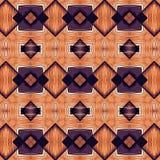 Decoratieve abstracte heldere de textuurstof van het achtergrondpatroon geometrische Behang Royalty-vrije Illustratie