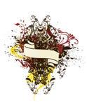 Decoratieve abstracte ontwerpellements Stock Afbeeldingen
