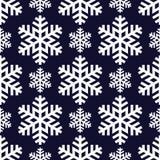 Decoratieve abstracte sneeuwvlok naadloos Royalty-vrije Stock Afbeeldingen