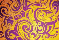 Decoratieve achtergrond Royalty-vrije Stock Fotografie
