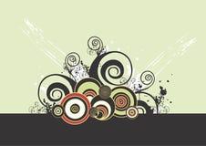 Decoratieve achtergrond Stock Foto's