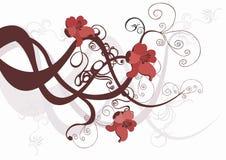 Decoratieve achtergrond Stock Afbeelding