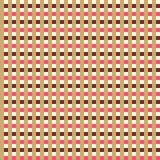 Retro naadloos gestreept patroon. Stock Afbeeldingen