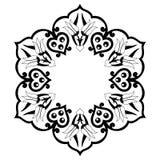 Decoratieve Achtergrond zevenendertig Royalty-vrije Stock Afbeeldingen