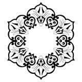 Decoratieve Achtergrond zevenendertig Royalty-vrije Stock Fotografie