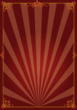 Decoratieve affiche Royalty-vrije Stock Foto