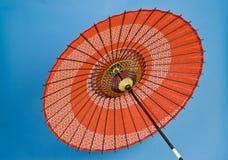 Decoratieve Aziatische Paraplu Stock Afbeelding