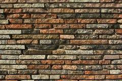 Decoratieve baksteen, textuur Stock Foto
