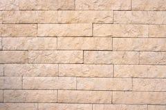Decoratieve bakstenen muur Royalty-vrije Stock Foto
