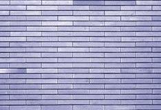 Decoratieve bakstenen muur in blauwe toon vector illustratie