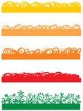 Decoratieve banden Stock Foto