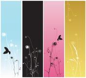 Decoratieve banners vector illustratie