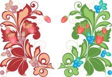 Decoratieve bessen Royalty-vrije Stock Fotografie