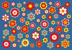 Decoratieve bloemachtergrond stock illustratie