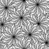 Decoratieve bloemachtergrond Stock Fotografie