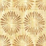 Decoratieve bloemblaadjes - Binnenlands behang - papyrustextuur royalty-vrije illustratie