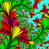 Decoratieve bloemen. Royalty-vrije Stock Foto's