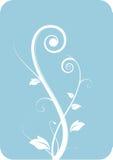 Decoratieve bloemenachtergrond Royalty-vrije Stock Foto