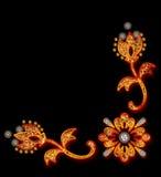 Decoratieve bloemenachtergrond Stock Fotografie