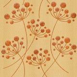 Decoratieve bloempaardebloemen - Binnenlands behang - naadloze achtergrond vector illustratie