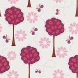 Decoratieve bomen vector illustratie