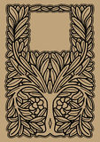 Decoratieve boom Royalty-vrije Stock Afbeelding