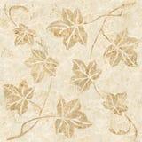Decoratieve boombladeren - Binnenlandse wallpape royalty-vrije illustratie