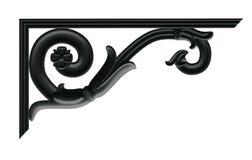 Decoratieve cantilever Stock Foto