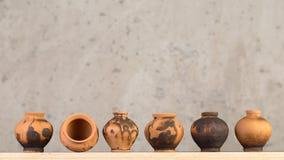 Decoratieve ceramische met de hand gemaakt stock fotografie