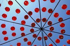 Decoratieve Chinese lanters Royalty-vrije Stock Afbeeldingen