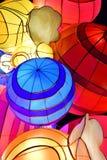 Decoratieve de Lichtenvertoning van de winterkerstmis van Suikergoed royalty-vrije stock afbeelding