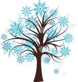 Decoratieve de winterboom,   Stock Afbeeldingen