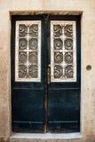 Decoratieve deur Stock Foto