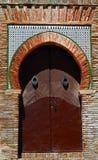 Decoratieve deur Royalty-vrije Stock Foto's