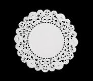 Decoratieve Doily Stock Fotografie
