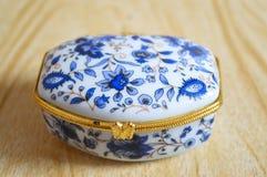 Decoratieve doos Royalty-vrije Stock Afbeeldingen