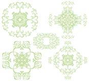 Decoratieve dwarsreeks III Royalty-vrije Stock Foto's
