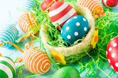 Decoratieve eieren royalty-vrije stock foto