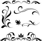 Decoratieve elementen Royalty-vrije Stock Afbeelding