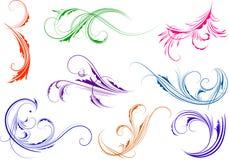 Decoratieve elementen. Royalty-vrije Stock Foto's