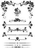 Decoratieve elementen Stock Afbeelding