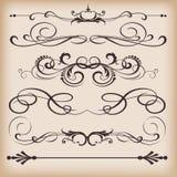 Decoratieve elementen Stock Foto