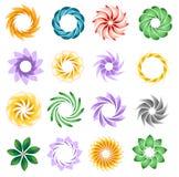 Decoratieve elementen Stock Afbeeldingen
