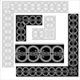 Decoratieve Elementen. stock illustratie