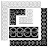 Decoratieve Elementen. stock foto's